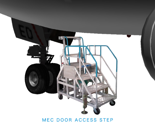 NOSE WHEELWELL STEP STAND